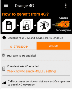 My Orange Egypt,تطبيق ماي اورانج