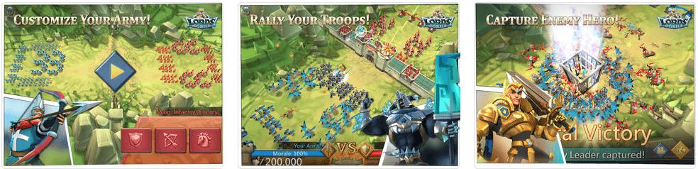 تحميل لعبة Lords Mobile مجاناُ