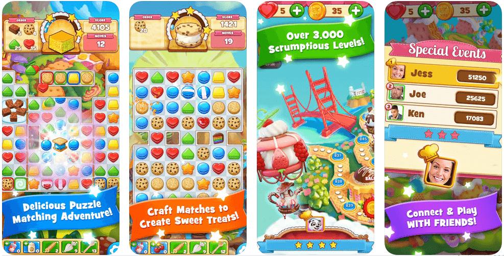 تحميل لعبة Cookie Jam Matching Game مجاناً