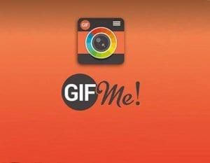 تطبيق Gif Me! Camera