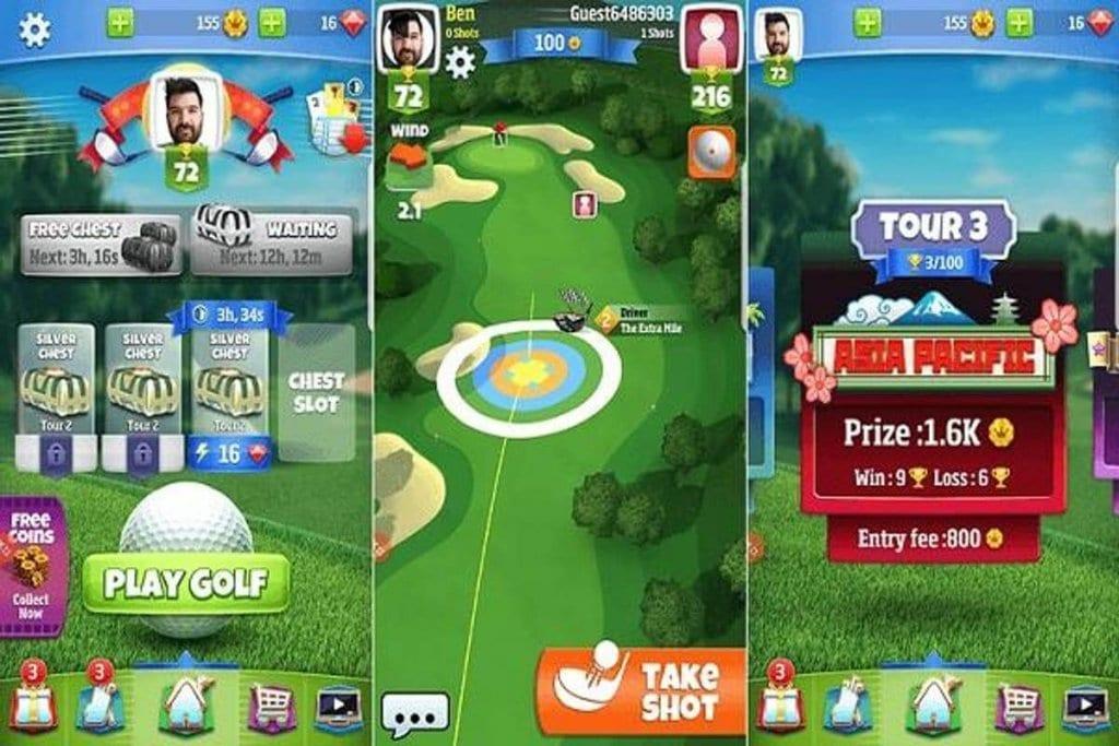 جولف كلاش Golf Clash