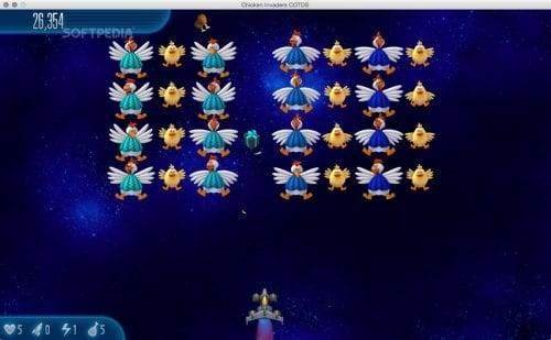 لعبة Chicken Invaders 5
