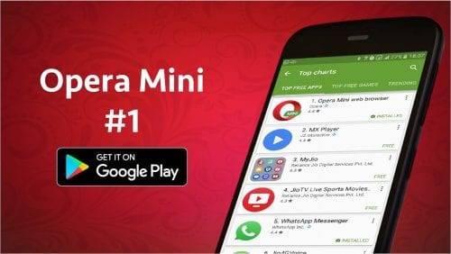 متصفح أوبرا ميني Opera Mini