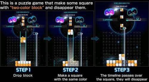 تحميل لعبة Lumines