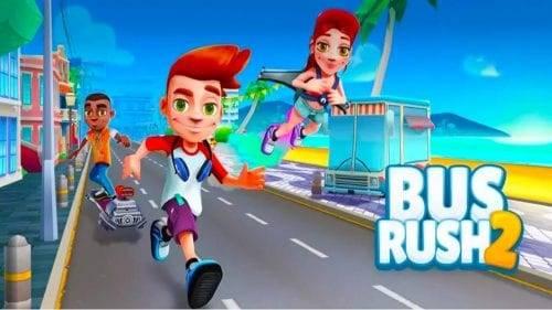 تحميل لعبة Bus Rush