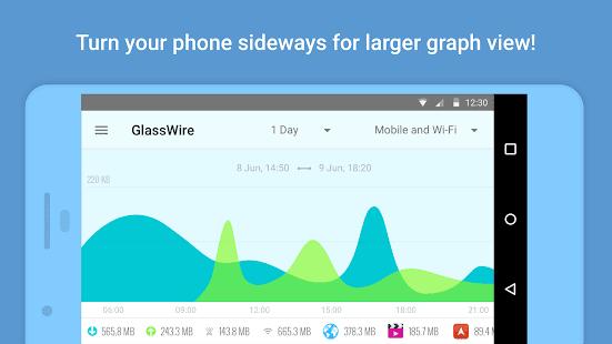 تحميل تطبيق GlassWire